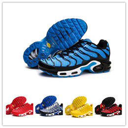 the best attitude b8602 f0be0 2019 heißer Verkauf TN Mens Laufschuhe chaussure homme tn kpu Kissen  Trainer Sport Athletic tns plus kpu Outdoor Wandern Jogging Sneakers