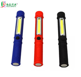 mini pen torch Australia - Portable Mini Pen Light Working Inspection light COB LED Multifunction Maintenance flashlight Hand Torch lamp With Magnet