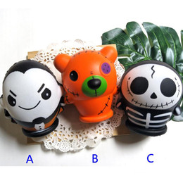 ghost toys 2019 - 2019 New PU Halloween Vampire ghost bear toys Squishy Slow rebound Simulation Funny Gadget Vent Decompression toy B disc