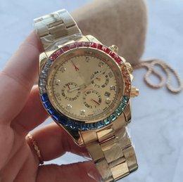 2019 Novo reloj hombre tag marca relógio de pulso dos homens relógios de grife homens assistir dia data de moda pulseira de luxo cheio de ouro e prata relógio