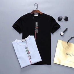 T Shirt Cotton Sport Fashion Australia - MM7 Wholesale 2019 Italian designer Polo shirt fashion brand Medusa T-shirt men's casual 100% cotton letter printing sports T-shirt M-3XL