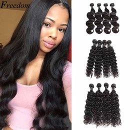 $enCountryForm.capitalKeyWord Australia - Brazilian Virgin Hair Weave Human Hair Bundles Remy Hair Weave Bundle Cheapest Price Dhgate Straight Body Deep Water Wave Lans 50g pcs