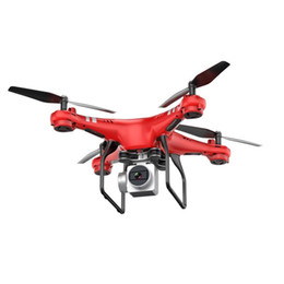 helicoptero camera UK - New X52 Drone With 0.3MP HD Camera Wifi FPV Drones RC Helicopter Quadcopter Radio Controlled 2.4G 4CH 6Axis Altitude