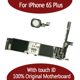 Unlock motherboard online shopping - For iphone S Plus G G Motherboard with Touch ID Fingerprint Original Unlocked for iphonbe S Plus Logic board by