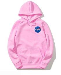 $enCountryForm.capitalKeyWord Australia - NASA hoodies for men women sweatshirt Harajuku sport streetwear hoodie mens skateboard hip hop nasa hoodies