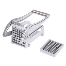 $enCountryForm.capitalKeyWord Australia - Stainless Steel French Fries Cutters Potato Chips Strip Cutting Machine Maker Slicer Chopper Dicer W  2 Blades Kitchen Gadgets