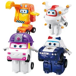 Super wingS online shopping - Season Mini Super Wings Deformation Mini  Airplane ABS Robot toy Action 6d5ea1e25