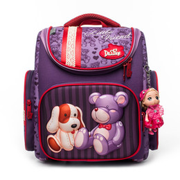 Bear Books Australia - Children School Bags for Girls Cartoon Dog Bear Backpacks Waterproof Folded Orthopedic Backpack Boys Cars Book Bag Grade 1-5