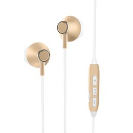 $enCountryForm.capitalKeyWord Australia - Golden Stereo Best Quality Bluetooth cell phone Version 4.1 Headphones Sport Earphones bluetooth earphones for phone and ipad