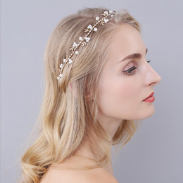 Alloy Shopping Australia - Explosive Alloy Leaf Water Drill Bride Hair Jewelry First-hand Supply of Marriage Accessories in Taobao Shop, East Beijing