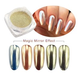 Nails Art & Tools Nail Glitter Hutation Glitter Rainbow Bling Mirror Chameleon Gel Nail Polish Powder Pigment Fine Dust Diy Magic Chrome Uv Led Laser Nail Art