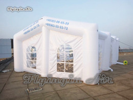 Wedding Inflatable Tents UK - Customized Advertising Inflatable Tent 10m Length Pop Up Frame Structure Blow & Shop Wedding Inflatable Tents UK | Wedding Inflatable Tents free ...