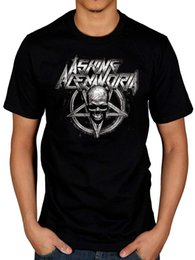 $enCountryForm.capitalKeyWord Australia - Official Asking Alexandria Death Metal T-Shirt Stand Up Scream From Death To Men Brand Printed 100% Cotton T Shirt