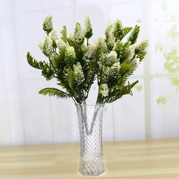 $enCountryForm.capitalKeyWord NZ - 7 Fork Bundle Artificial Flower Fake Plants Pine Plastic Tree Branches for Christmas Party Decorations Tree Ornaments Vase Decor