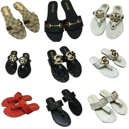 Slippers Summer Shoes Adult Australia - New Arrival 31 Color Fashion Women Sandsals 2019 Summer Brand New Women Slides Flat Heel Shoes Woman Floral Beach Slippers