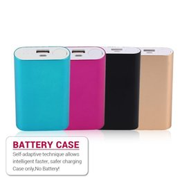 External Power Supply For Phone NZ - 5600MAH Portable Size USB Charging External Power Bank Case 2*18650 Battery Power Supply Charger(not included)For Smart Phones
