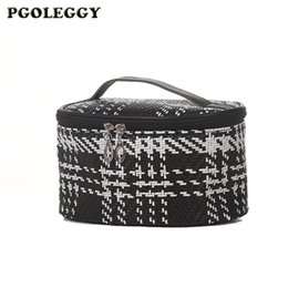big makeup bags NZ - PGOLEGGY Multifunction Travel Cosmetic Bag Women Knitting Big Capacity Toiletries Organizer Makeup Bag Female Storage