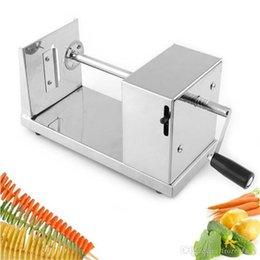 Großhandel Hotsale Tornado Kartoffelschneider Maschine Spirale Schneidemaschine Chips Maschine Küche Zubehör Kochen Werkzeuge Obst Gemüse Werkzeuge