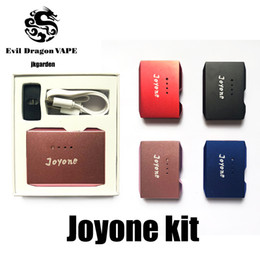 vape pen battery usb charger NZ - 100%original Joyone Kit with Vape Pen Battery 410mAh Preheat Box Mod and palm Pod Cartridge USB charger Kits lokey palm vmod battery