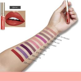 $enCountryForm.capitalKeyWord NZ - 10pcs Qibest Lip Gloss Matte Sexy Lipstick Makeup Beauty Tattoo Elegant Women Shimmer Liquid Metallic Lipgloss Lipsticks Make up