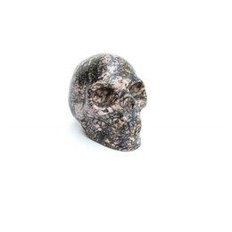 $enCountryForm.capitalKeyWord UK - Customized 1kg size Semi Precious Stone Natural Red And Black Rhodonite Polished Crystal Skull For Sale For Souvenir Gift