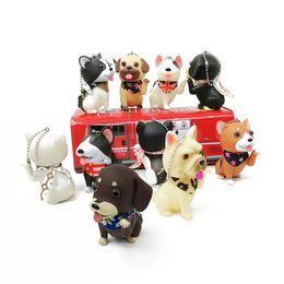 $enCountryForm.capitalKeyWord NZ - Cute Simulation Dogs Husky Akita Animal Dolls Bag Car Desktop Decorations Toys Grifts For Children Kids