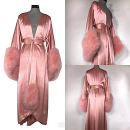 Venta al por mayor de Vestido de dama de honor vestido de dama de honor de las mujeres de la bata del camisón de la albornoz de la ropa de noche de las mujeres del vestido de la novia
