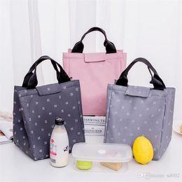 $enCountryForm.capitalKeyWord Australia - Waterproof Oxford Lunch Box Bag Thermal Insulation Package Aluminum Foil Storage High Capacity Wrap Handbag Hot Sale 5 5lcb1