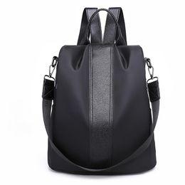 $enCountryForm.capitalKeyWord UK - Popular Fashion Stripes Large Capacity Women Casual Travel Backpack Shoulder Bag Tote 2019