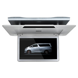 $enCountryForm.capitalKeyWord Australia - Top quality 13.3 inch ultra slim car roof mounted monitor 1920x1080 mp5 Player USB SD FM IR 1080P video HDMI flip down for Toyota Alphard