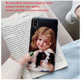 hot iphone girl Australia - Hot Sale Case Retro Styles for Iphone 11promax 11pro 11 X XR XS MAS Popular Phone Cases Girls and Boys Print Case Cute Couple TPU Back Cover