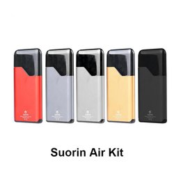 Metal Air Australia - Suorin Air Starter Kits 16W build-in 400mah Battery and 2ml Cartridge Indicator Light Electronic Cigarette Ecigs Kit 7 Colors