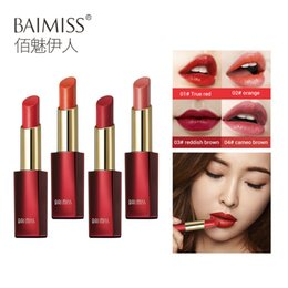 $enCountryForm.capitalKeyWord UK - BAIMISS Matte Velvet Lipstick Makeup Base Waterproof Long Lasting Red Lip Stick Cosmetic Make Up High Quality Gifts For Women
