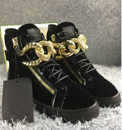 Metal Sneakers Australia - plus sizes 36-46 men casual shoes women fashion sneakers white black colors with Metal button decoration Double zipper low high top style y1