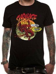 $enCountryForm.capitalKeyWord Australia - Carnage is Back Comic Poster Venom Official Marvel Spider-man Black Mens T-shirt