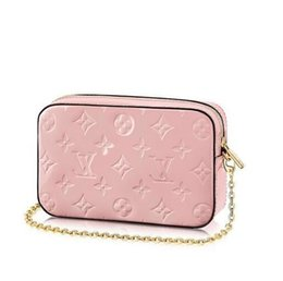 Vintage camera belt online shopping - 2019 CAMERA POUCH M64058 NEW WOMEN FASHION SHOWS EXOTIC LEATHER BAGS ICONIC BAGS CLUTCHES EVENING CHAIN WALLETS PURSE