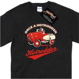 $enCountryForm.capitalKeyWord UK - Birthday Christmas Gift Hot Rod Classic Car Retro Vintage Pedal Car T Shirt Tee Funny T Shirt Men, High Quality Tops ,Tees Men Cotton