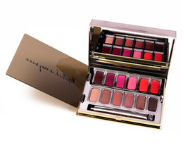 Matte Lipstick Shades Australia - Smith and Cult Lip Makeup12 Shades of Colour Backstage Matte Lipstick Palette 12 x 0.7g