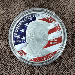 $enCountryForm.capitalKeyWord Australia - 45th Donald Trump Silver Eagle Coin Commemorative Coin Make America GREAT Again 45th President hot selling fast ship