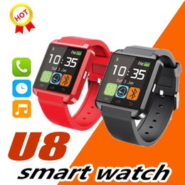 bluetooth smart watch sim Australia - Hot U8 SmartWatch Touch screen with SIM Card Slot GT08 A1 DZ09 WristWatch for Android Phone Smartphones Bluetooth Smart Watch