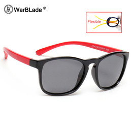 Discount infant sunglasses - WarBLade Kids Square Polarized Sunglasses Children Vintage Sun Glasses Infant Baby Boys Girls Polaroid Outdoor Goggles