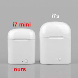 $enCountryForm.capitalKeyWord Australia - i7 Mini TWS Wireless Bluetooth Headphone V5.0 wireless headset earbuds binaural calling i7s Smaller Size