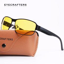 $enCountryForm.capitalKeyWord UK - Eyecrafters Yellow Polarized Sunglasses Mens Night Vision Goggles Driving Glasses Driver Aviation Polaroid Sun Glasses UV400