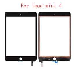 "chip tablets NZ - 15PCS For iPad Mini 4 4th Gen 7.9"" A1538 A1550 Digitizer Touch Screen Panel with IC Chip Connector+Sticker"
