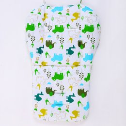 baby feeding mats Australia - Cotton Baby Stroller Cushion Baby Safety Car Seat Cushion Pram Pad Comfortable Infant Pushchair Mat Feeding Chair