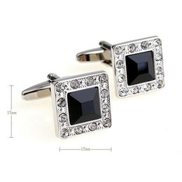 $enCountryForm.capitalKeyWord Australia - The manufacturer supplies the classic Jinyu Mantang water drill glass cuff links with high-end atmospheric top-grade cuff nails