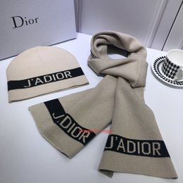 Elastic balls online shopping - Men s Ladies The Latest Wool Knitted Hat And Scarf Suit Is Very Soft Skin friendly Elastic And Warm Cashmere Wool Cap