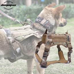$enCountryForm.capitalKeyWord Australia - Tactical Dog Molle Hunting Dog Vest Harness Vest for Walking Hiking Hunting Tactical