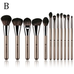 single eye shadow brushes Australia - Makeup Brushes Brown Palm with Logo Single Eye Shadow Blending Eyeliner Eyelash Eyebrow Make up Brushes Professional Eyeshadow Brush