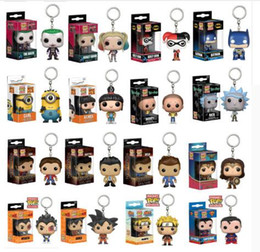 $enCountryForm.capitalKeyWord NZ - FUNKO POP Original Dragon Ball superman Avengers Spiderman Superman Batman Figure Doll Collectible Model KeyChain with box